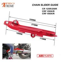 Motorcycles Plastic Chain Slider Sliding Swingarm Guide for HONDA CR125R CR250R CRF250R 250X 450R 450X