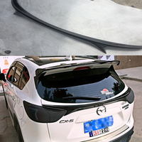 CX 5 Carbon Fiber Rear Middle Trunk Lip Spoiler Wing For Mazda CX 5 2012 2016