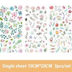 Милый мультфильм сто цветов Стикеры-напоминания разместил его Kawaii планировщик для скрапбукинга стикер для канцелярских товаров Эсколар