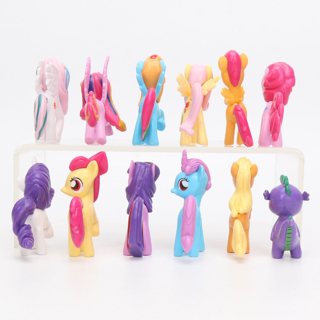My Little Pony Toys Mini Pony PVC Action Figures 12pcs/Set