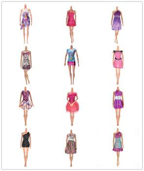 11 11 sprzedaż piękne ręcznie robione lalki Party Dress Doll modne ciuchy akcesoria dla lalek dziewczyna prezent zabawka dla dzieci tanie i dobre opinie KittenBaby Other Multi dress for Barbie Doll Unisex Moda Koszule i bluzki Doll Accessories piece 0 015kg (0 03lb ) 1cm x 1cm x 1cm (0 39in x 0 39in x 0 39in)