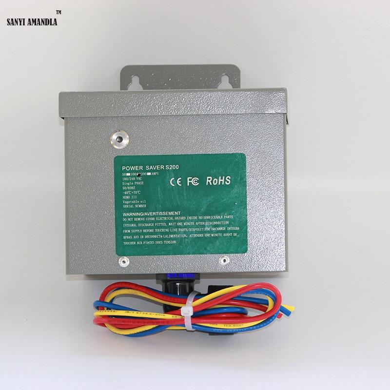 Single Phase Electric Power : Sanyi amandla single phase electric power saver device