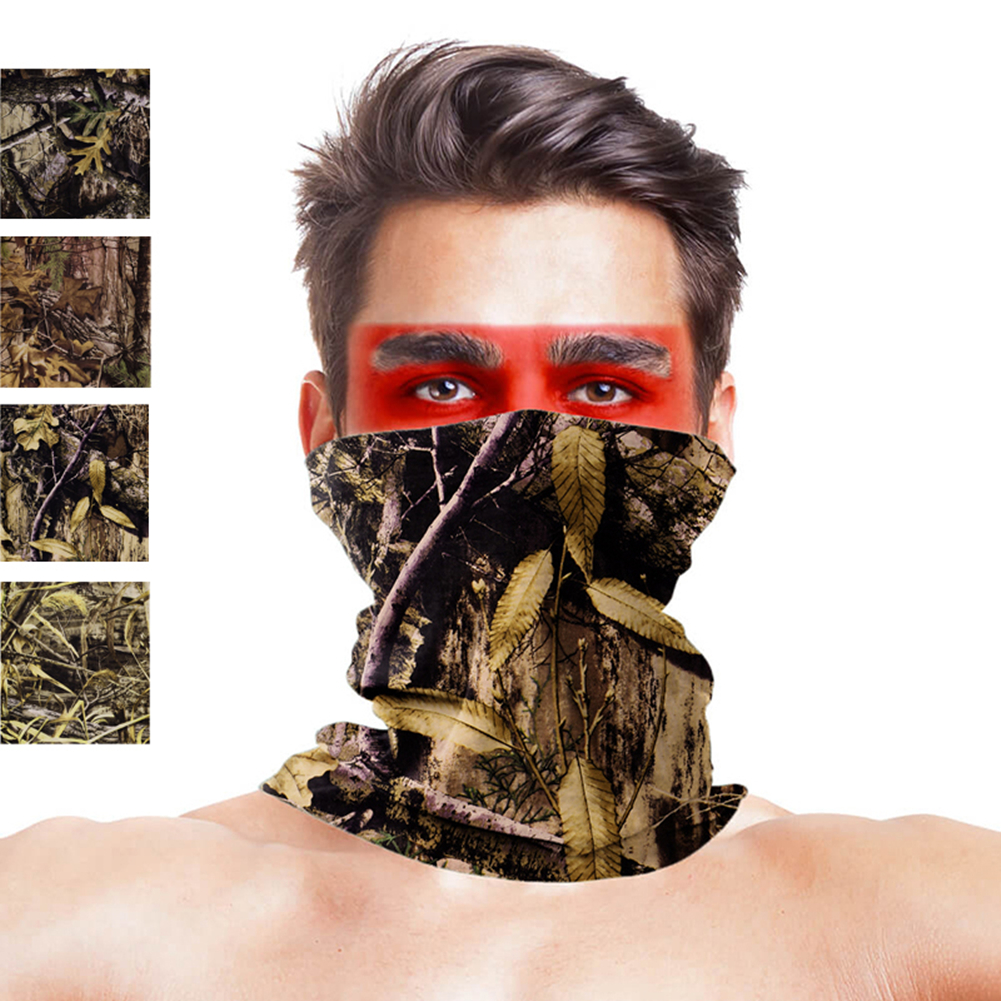 High-Jump Hunting Scarves Military Accessories Anti UV Dust Half Face Mask Bandana Tactical Militar Gear Hunting Accessories