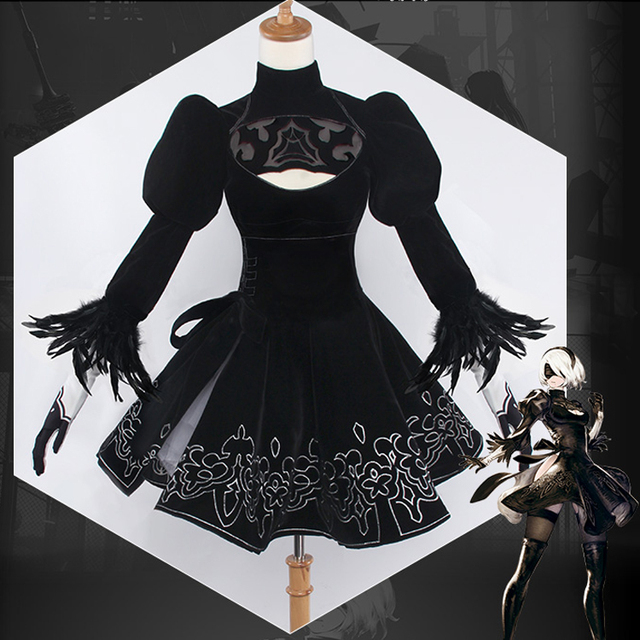 Aliexpress.com : Buy ohlees Custom made NieR:Automata Princess 2B ...