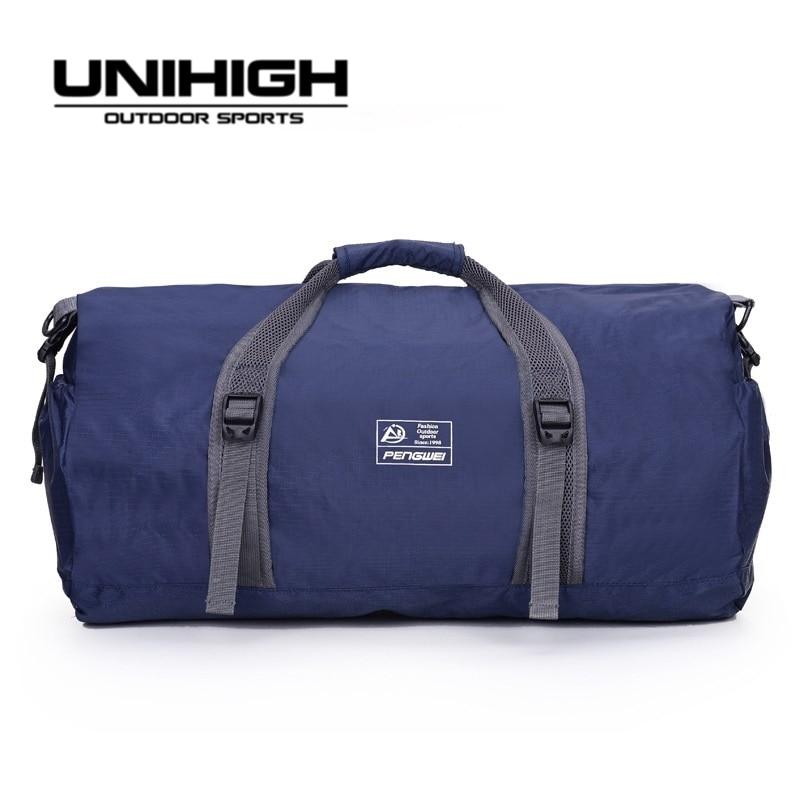 Access Control Friendly Free Knight Fitness Bag Large Waterproof Nylon Gym Yoga Sport Training Bag Luggage Hiking Travel Shoulder Handbag 6 Colors