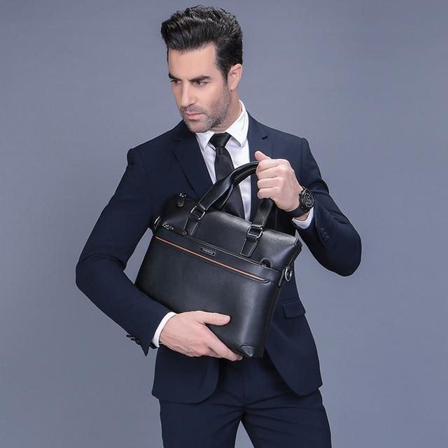 Handbag Men Messenger Bags PU Leather Man Bags Fashion Male Men's Briefcase Man Casual Shoulder Bag 1