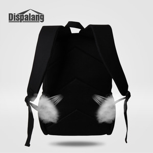 Image 2 - Dispalang Fashion School Backpack Fox Printing Women Children School Bag Kids Back Pack Mens Knapsack Travel Bags for Teenagers