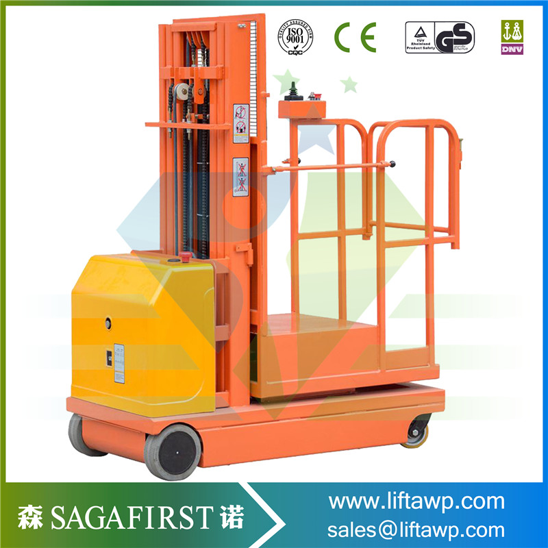 2.7m,3.3m,4.0m,4.5m  Electric Self Propelled Order Picker