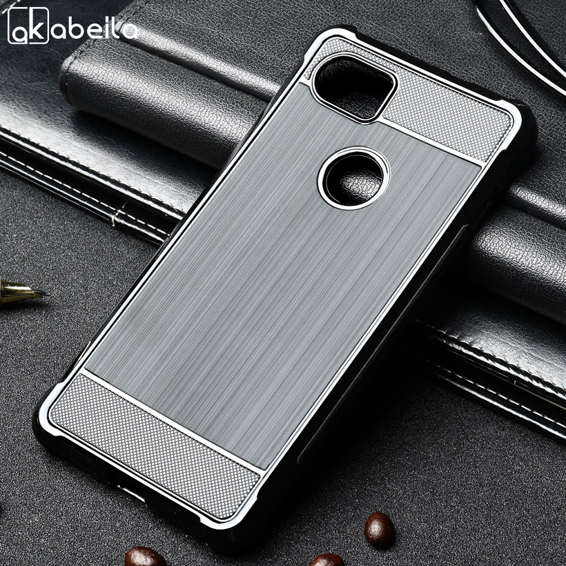 Akabeila Silicon Case For Anti-knock Phone Cover For HTC Pixel XL 2...