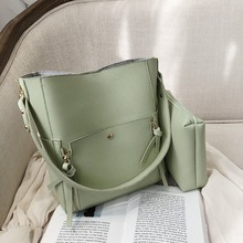 Brand quality PU leather ladies handbag shopping bag bolsa womens design shoulder large capacity chain