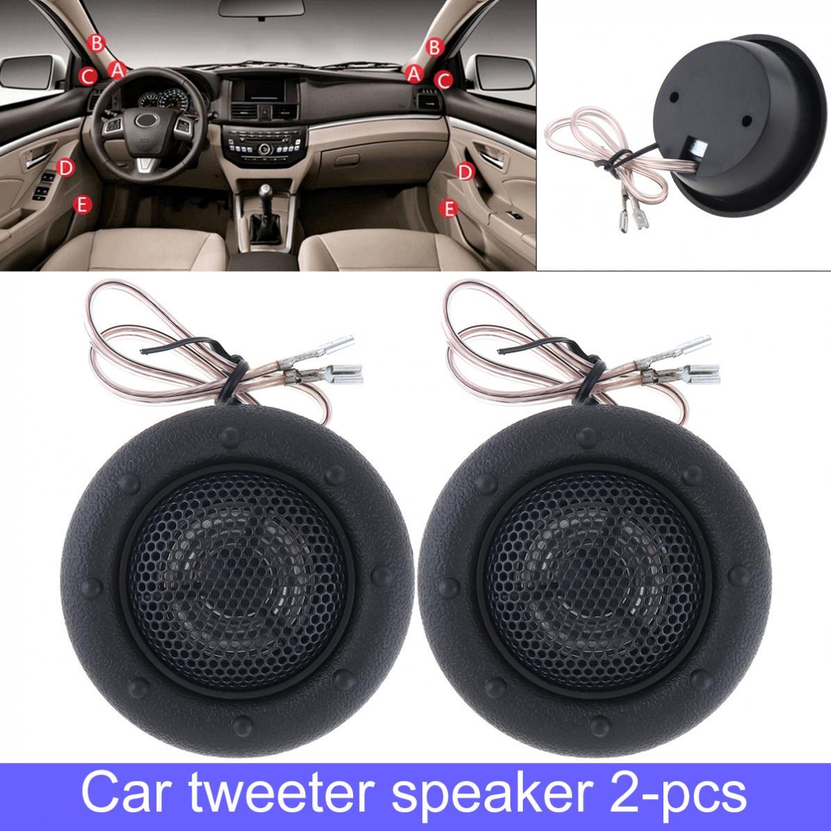 alta eficiência mini half-dome carro tweeter alto-falantes