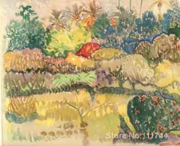 Watercolor 23 Paul Gauguin famous paintings oil canvas reproduction High quality Hand painted