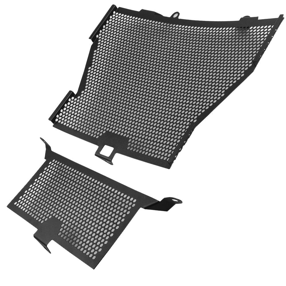 Accessoires moto S1000RR S1000XR Grille de radiateur + refroidisseur d'huile couvercle de Protection pour BMW S1000 RR S1000R HP4 - 3