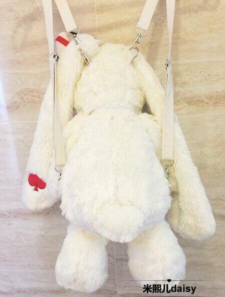 """20 """"AMUSE Pote Loppy lapin peluche poupée sac à dos LOLITA fille sac à bandoulière cadeau-in Sacs à dos from Baggages et sacs    3"""