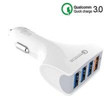 Car Accessories 12V Car Cigarette Lighter USB QC 3.0 Quick C