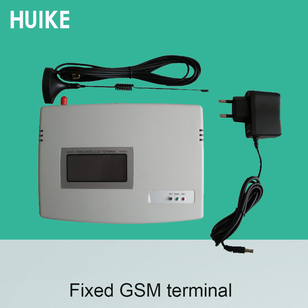 (1 Set) GSM 850/900/1800/1900MHZ Fixed Wireless Terminals,LCD Display Fixed Wireless,support Alarm System,PABX,Support Recording efcom pro wireless 850 900 1800 1900mhz gprs gsm module w antenna white