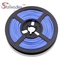 10 mét (32.8ft) 18AWG Ốp sợi dây Cáp đồng Mạ Thiếc Dây DIY Điện Tử dây 10 màu sắc Có Thể lựa chọn