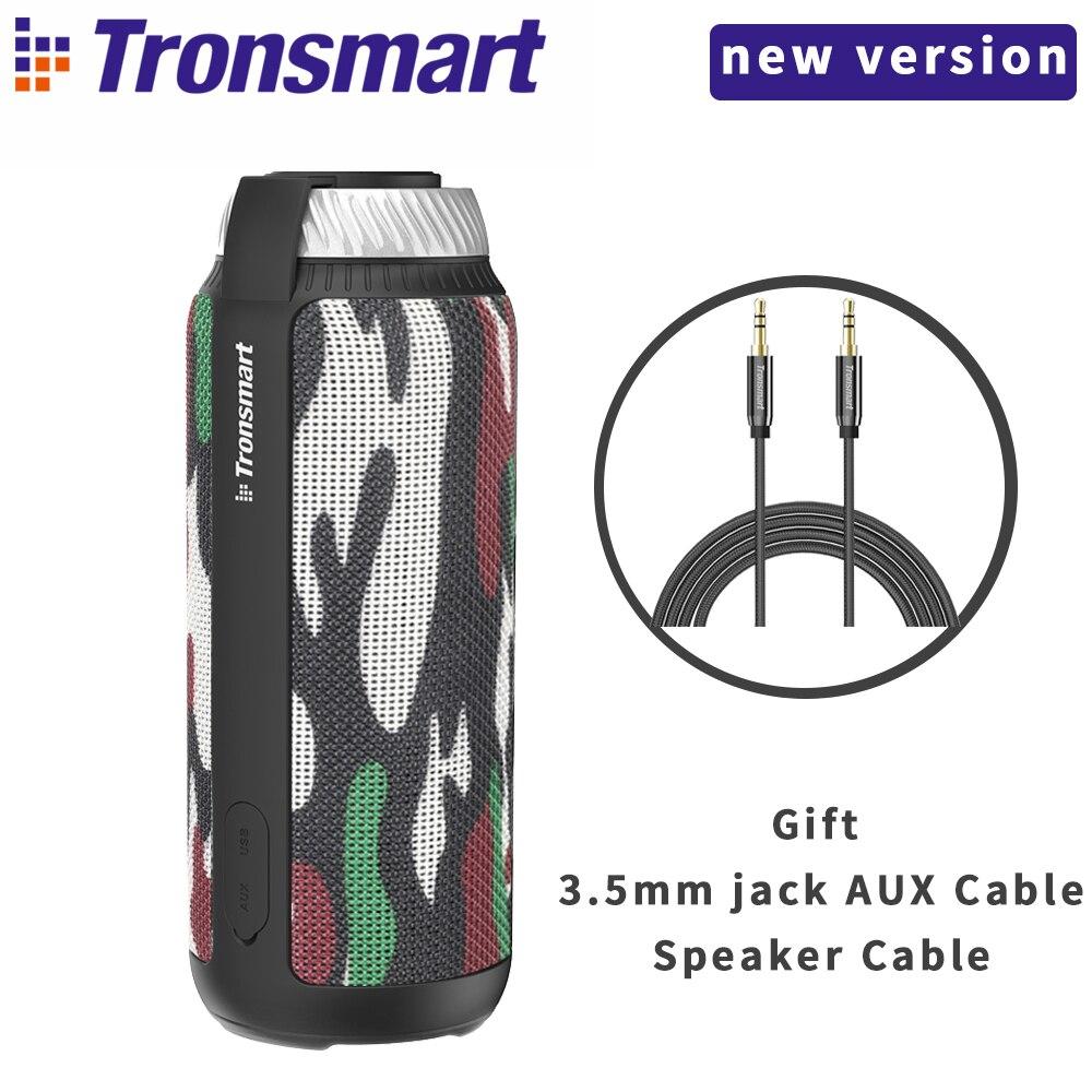 Tronsmart T6 Bluetooth haut-parleur 25 W colonne basse boîte haut-parleur sans fil extérieur Mini musique Subwoofer haut-parleurs portables 15 H PlayTime
