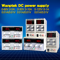 Wanptek 30V 10A LED Display Adjustable Switching dc power supply 120V 3A Laptop Repair Rework 60V 5A Lab power supply