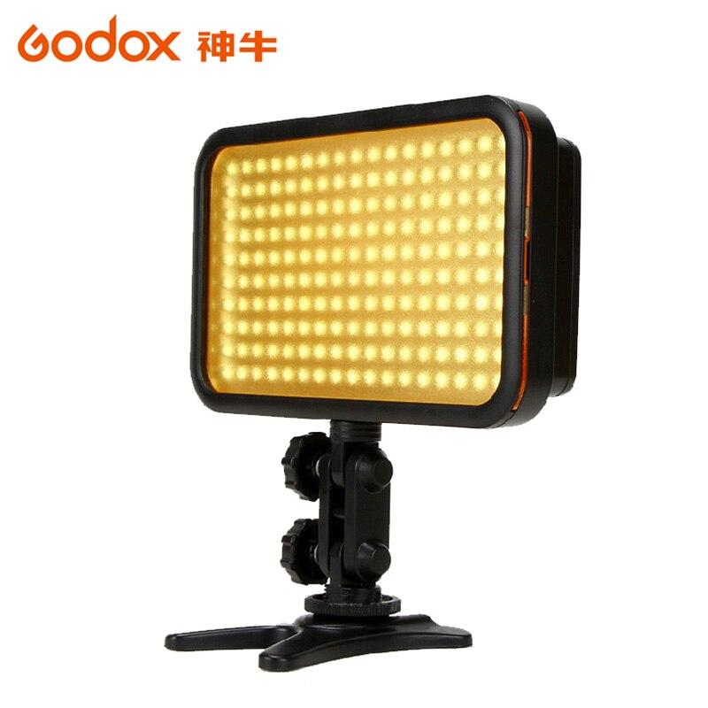 Godox LED 170 Photo éclairage vidéo lampe lumière 170 LED pour la photographie appareil Photo numérique caméscope DV Canon Nikon Sony