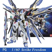 Daban Model New Gundam Seed PG 1/60 ZGMF X20A Strike Freedom Mobile Suit kids toys Robot Action Figure Assembled Toys Anime