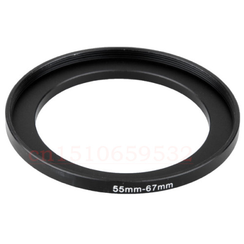 10pcs 55mm to 67mm 55-67 Lens Stepping Step Up Filter Ring Adapter