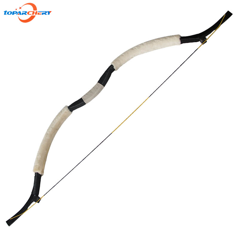 Archery Recurve Bow 45lbs 50lbs for Carbon Fiberglass Arrows Hunting Shooting Target Practice Games Traditional Wooden Long Bow стоимость