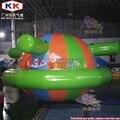 Надувной плавающий Спиннер Saturn Rocker  летние игры  диаметр 4 м