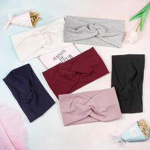 US $1.31 10% OFF|Fashion Soft Women Wide Hairbands Plain Elastic Stretch Girl Headband Twist Knot Turban for Lady Headwear Hair Accessories-in Women's Hair Accessories from Apparel Accessories on Aliexpress.com | Alibaba Group