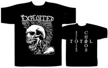 Cheap Funny T Shirts MenS Short Sleeve The Exploited Mohican Skull Crew Neck