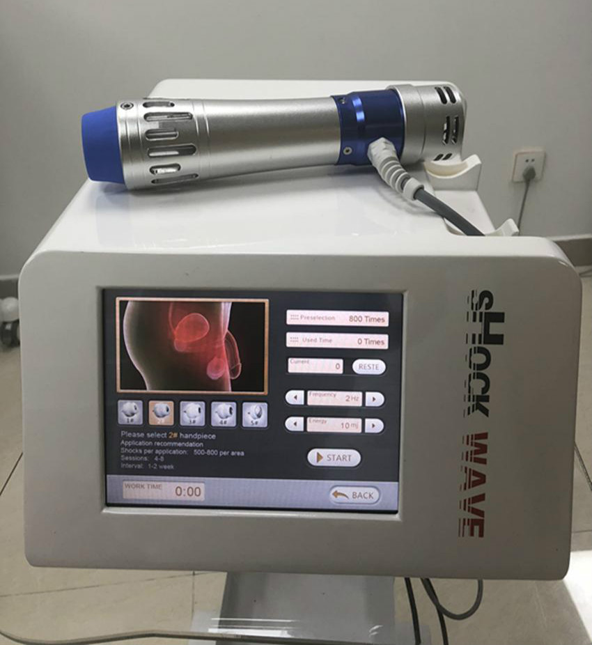 Portable Eswt Machine Shock Wave Erectile Dysfunction Shock Wave Therapy Equipment Extracorporeal Smartwave Erectile Dysfunction
