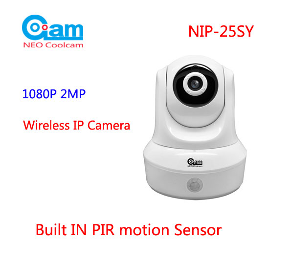 NEO COOLCAM NIP-25SY HD 1080P WIFI IP Camera 3.6mm lens, Home Surveillance Security Came ...