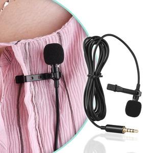 Image 4 - Andoer 1.45 M Mini Draagbare Microfoon Condensator Clip On Revers Lavalier Microfoon Wired Mikrofo/Microfon Voor Telefoon Voor laptop
