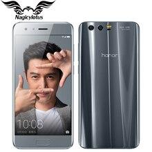 Original Huawei Honor 9 4G LTE Mobile Phone 5.15′ Kirin 960 Octa Core 6GB RAM 64GB ROM Dual Rear 1920*1080P Fingerprint NFC