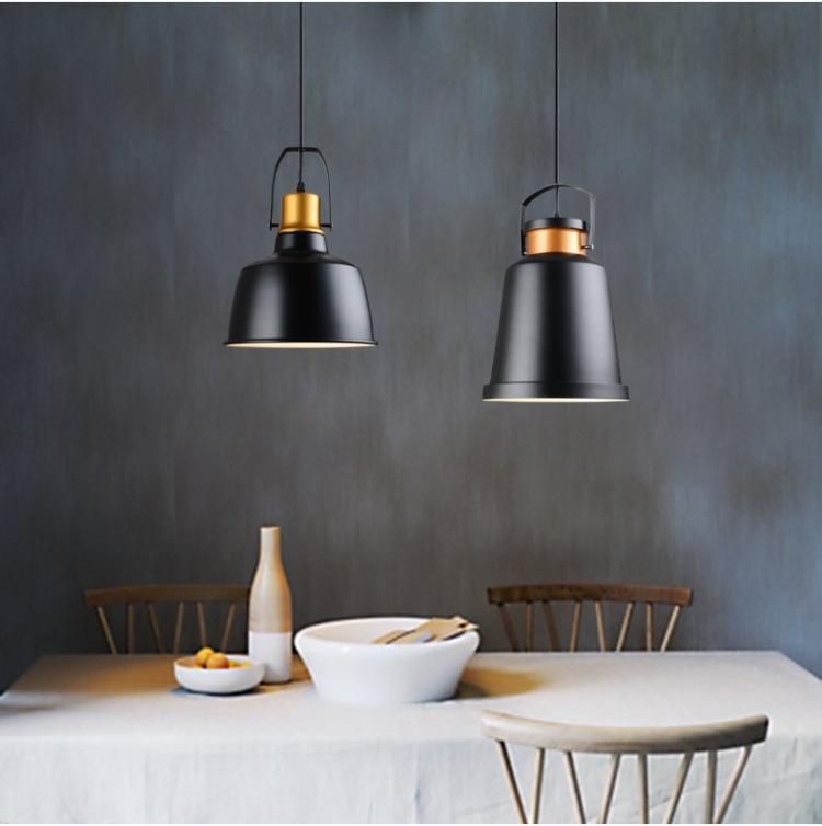 Retro craft furniture exhibition hall decorative coffee shop hotel bar studio Robles industrial Pendant Lights LO888