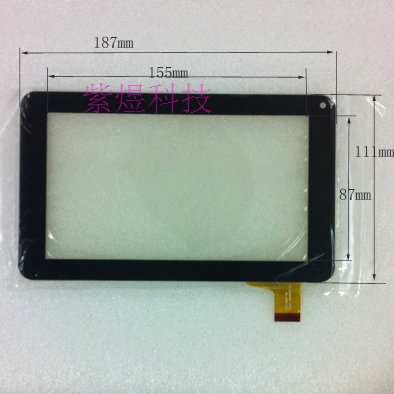 POST 7 tablet touch screen zcc-2051 v2 touch screen 30 needle