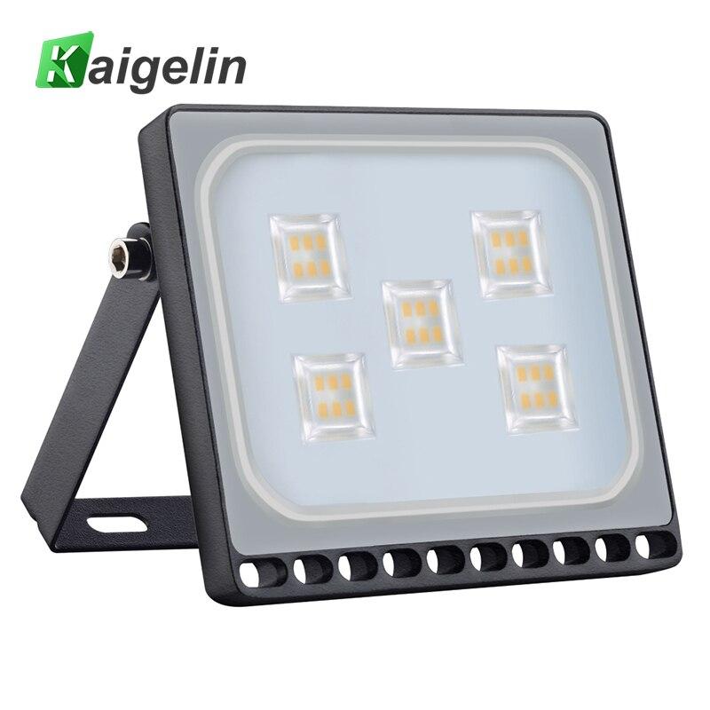 [2 pcs/lot] Kaigelin 30W LED Flood Light 2100LM Floodlight Waterproof LED Spotlight Garden Reflector LED Lamp Outdoor Lighting