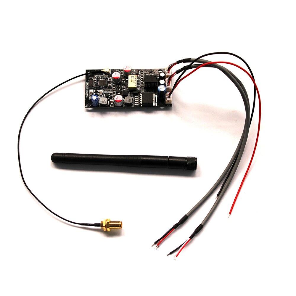 CSR8675 HiFi sans fil Bluetooth 5.0 récepteur Audio JC-SQ875 ES9018 DAC carte décodeur prise en charge 24bit/96 Khz avec antenne