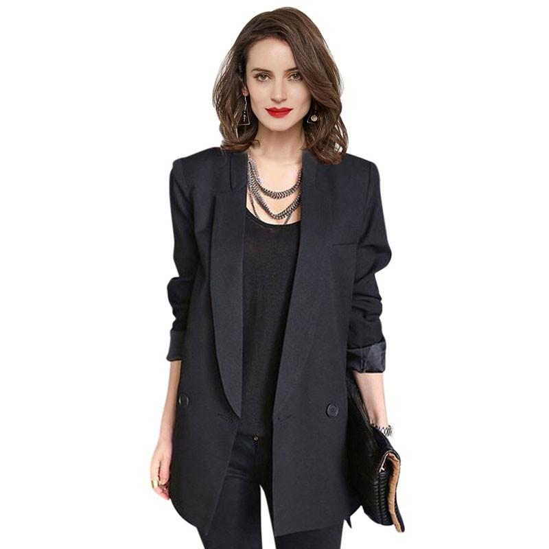 Hee-grand-2016-moda-preto-azul-mulheres-mid-comprimento-único-botão-blazer-ocasional-plus-size-xxl