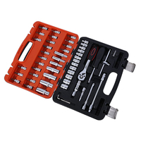 Automotive Mechanics Tool Set Box Case Car Motorcycle Home Repair Kit 53 Piece