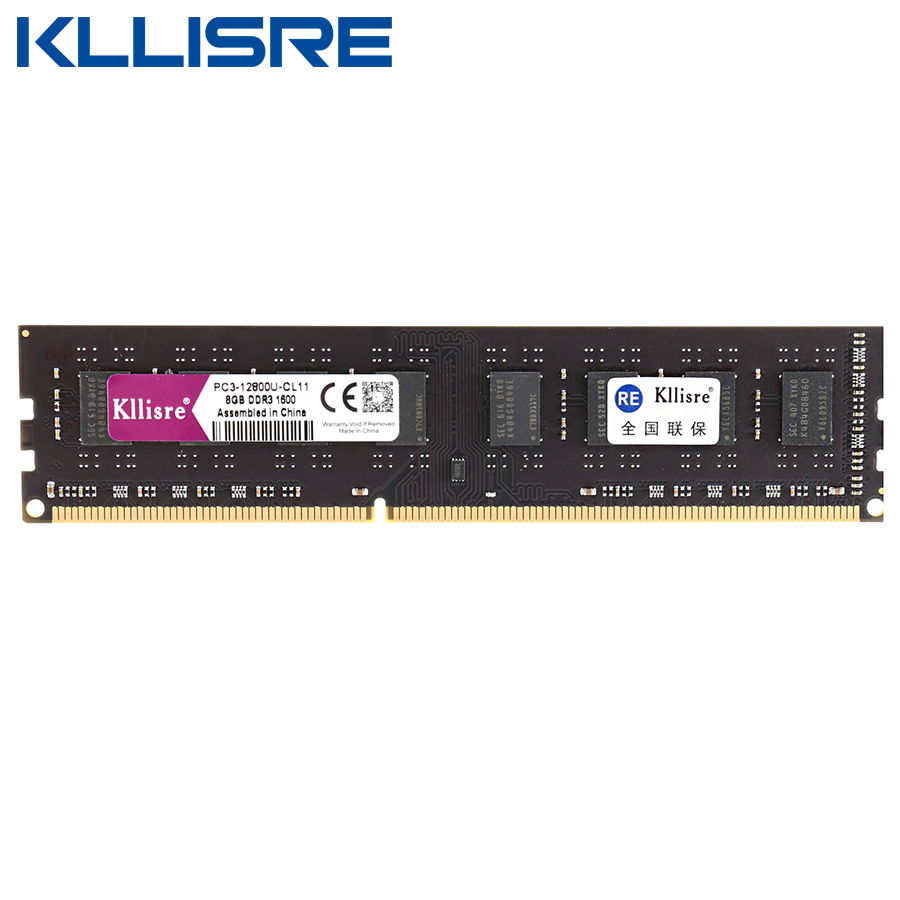 Kllisre Ddr3 8gb 1600mhz 1333mhz Memory Ram Support Lga