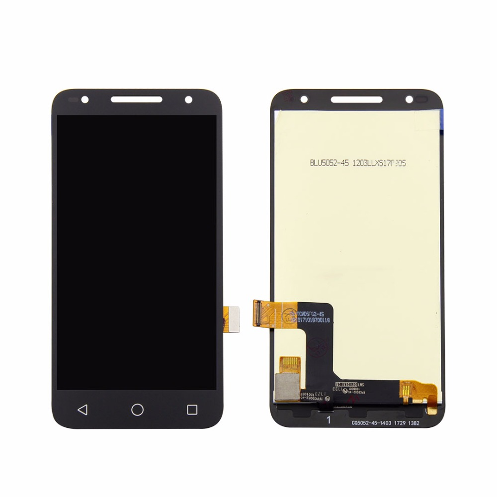 High quality for <font><b>Alcatel</b></font> One Touch U5 5044D 5044I <font><b>5044T</b></font> 5044Y LCD DIsplay Touch Screen Digitizer Assembly image