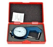 Ортодонтический измеритель Толщина Манометр 0-10*0,1 мм суппорт с металлическими часы измерения Толщина Стоматологическое оборудование лаборатории стоматологические инструменты