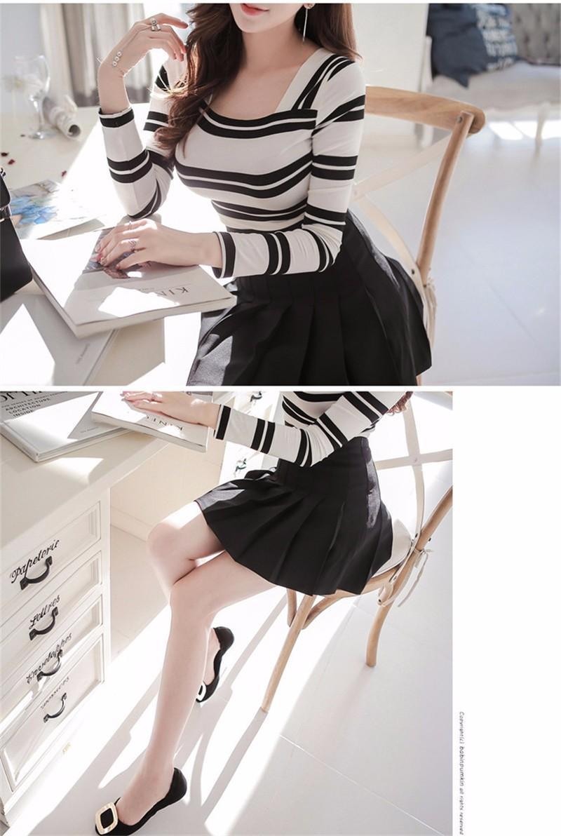 pleated skirt 05