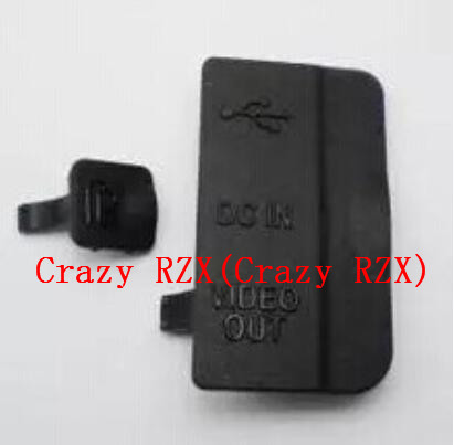 NEW USB/HDMI DC IN/VIDEO OUT Rubber Door Bottom Cover For NIKON D80 Digital Camera Repair Part