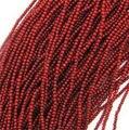 """O envio gratuito de 2.6 mm coral vermelho redondo minúsculo pequeno solta pérolas de 15 """""""