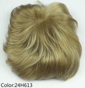 Image 3 - יופי חזקות נשירת שיער פיאות שיער סינטטי פאת פאה פאות למעלה חתיכה 36 צבעים לבחירה