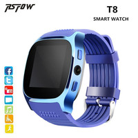 RsFow New T8 Bluetooth Smart Watch Support SIM TF Card With Camera Sync Call Message SmartWatch