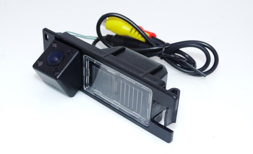 Автомобиль сзади камера заднего вида провода Авто Используйте для Opel Astra H/Corsa D/Meriva/Vectra C /Zafira B/Fiat принести 4 ИК огни