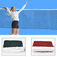 6.1mX0.75m Professional Sport Training Standard Badminton Net Outdoor Tennis Net Mesh Volleyball Net Exercise Drop Shipping